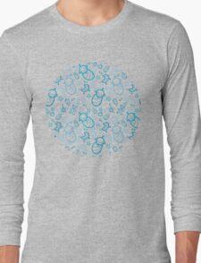 Cute baby boy pattern Long Sleeve T-Shirt