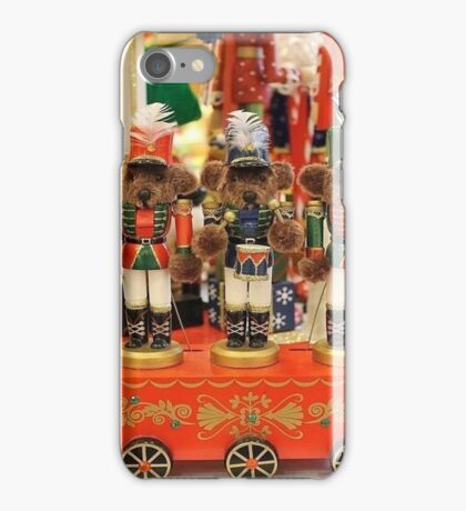 Teddy Bear Nutcrackers - Portrait iPhone Case/Skin