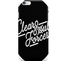 Clear Soul Forces  iPhone Case/Skin