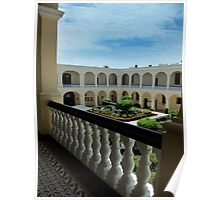 Naval Museum Courtyard Poster