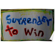 surrender to win Poster