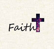 Faith- Galaxy Cross T-Shirt