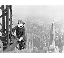 Mario At Work Photographic Print