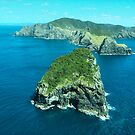 Cape Brett and Piercy Island, Bay of Islands, New Zealand.....! (2) by Roy  Massicks