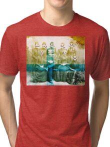 semicolon sisters Tri-blend T-Shirt