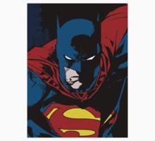 Batman x Clark Kent Kids Clothes