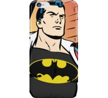Superman x Bruce Wayne iPhone Case/Skin