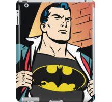 Superman x Bruce Wayne iPad Case/Skin