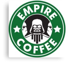 Empire Coffee Canvas Print