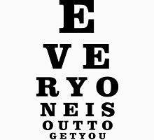 Eye Exam Unisex T-Shirt