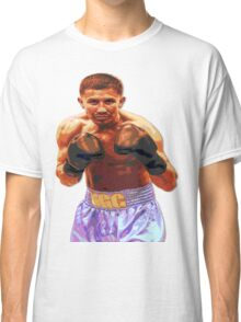 GGG Gennady Golovkin - Red/Bronze effect Boxing Classic T-Shirt