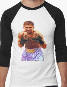 GGG Gennady Golovkin - Red/Bronze effect Boxing Men's Baseball ¾ T-Shirt