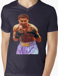 GGG Gennady Golovkin - Red/Bronze effect Boxing Mens V-Neck T-Shirt