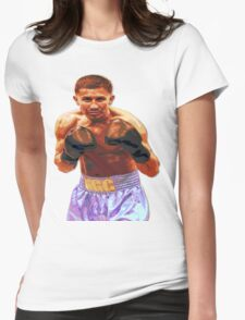 GGG Gennady Golovkin - Red/Bronze effect Boxing Womens Fitted T-Shirt