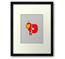 His one weakness Framed Print