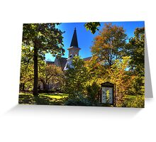 Beauty Surrounds God's House Greeting Card