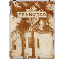 """Francisco"" iPad Case/Skin"
