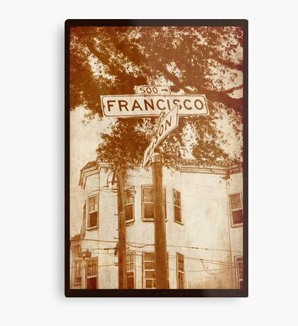 """Francisco"" Metal Print"