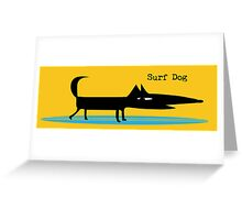 Surf Dog Greeting Card