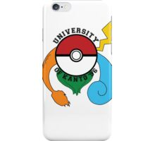 Pokemon - University Of Kanto '96 iPhone Case/Skin