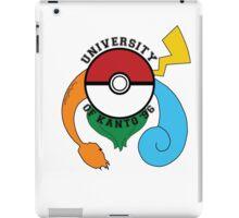 Pokemon - University Of Kanto '96 iPad Case/Skin