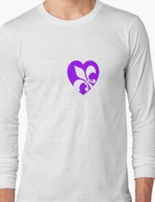 I <3 JOHNNY GAT - saints row Long Sleeve T-Shirt