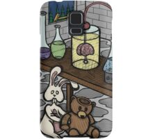 Teddy Bear and Bunny - The Rescue Came Too Late Samsung Galaxy Case/Skin