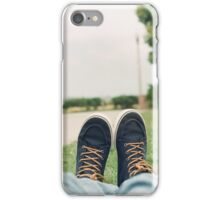 Shoes at the Park iPhone Case/Skin