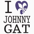 I <3 JOHNNY GAT - saints row white by museshake