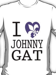I <3 JOHNNY GAT - saints row white T-Shirt