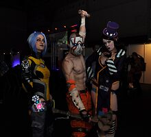 Borderlands - Maya, Psycho & Moxxi by LostTambo