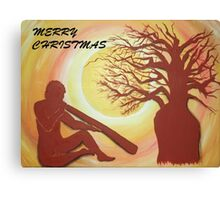 BOAB CHRISTMAS TREE Canvas Print