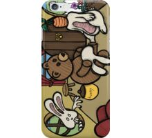 Teddy Bear And Bunny - The Decoy iPhone Case/Skin