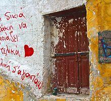 Universal Language, Athens Greece by Barbara  Brown