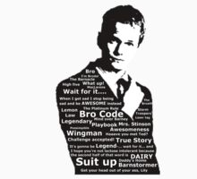 Barney Stinson by sweetcherries