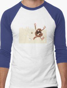 OMG a bee! Men's Baseball ¾ T-Shirt