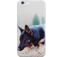 Bored lil Sheppy iPhone Case/Skin
