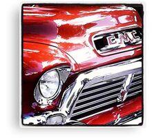 Vintage GMC Truck Canvas Print
