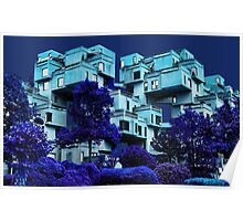 ๑۩۞۩๑HABITAT 67 MONTREAL-VERSION ONE ๑۩۞۩๑ Poster