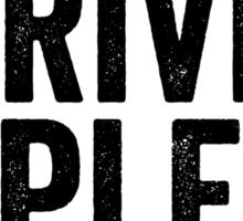 i drive topless® - tire tred Sticker