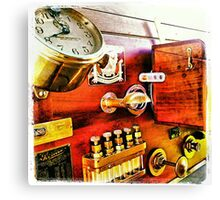 Vintage Time Travel Touring Car Canvas Print