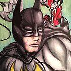 Batman & Harley Quinn by Ciara Di Salle