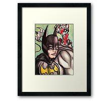 Batman & Harley Quinn Framed Print