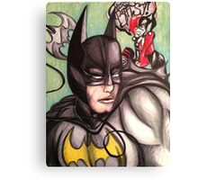 Batman & Harley Quinn Canvas Print