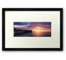 Grange Jetty, South Australia Framed Print