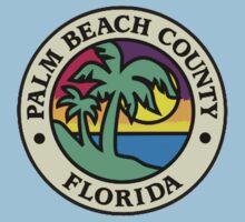 Palm Beach County, Florida Flag by cadellin