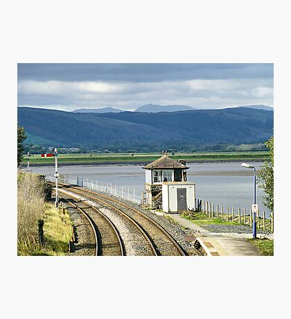 Arnside Signal Box. Photographic Print
