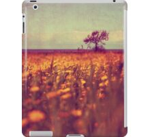 lying in a field of daisies iPad Case/Skin