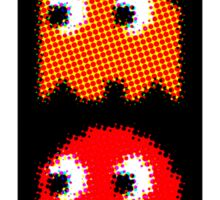 RED PAC MAN GEEK 2 Sticker