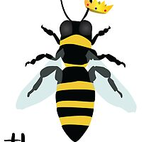 God Save the Queen Bees by kndll
